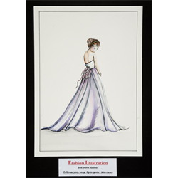 Fashion Illustration with Darryl Audette, February 25