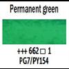 Van Gogh Watercolour 10ml Tube Perm. Green