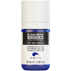 Liquitex Acrylic Soft Body Ultramarine Blue (Red Shade) S1 2oz