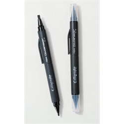 Calligraphy Marker Black Double Ended (CL-10-BK)