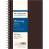 """Strathmore 400 Drawing Black Hard Wire bound 7"""" x 10"""""""