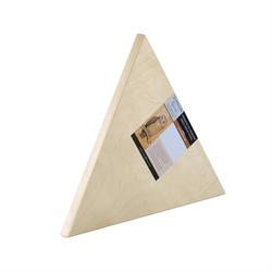 "Gotrick Triangle Wood Panel 3/4"" x 10"" **ND**"