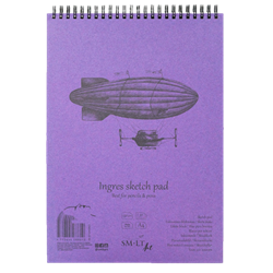 SM.LT authenticpad Coil Ingres Sketch A5 130gsm 25shts **ND**