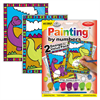 Royal & Langnickel Paint by Numbers Dinosaurs & Volcano 2 pk