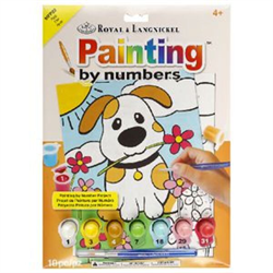 Royal & Langnickel Paint By Numbers Puppy