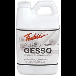 Fredrix Gesso Acrylic White 1.9L/0.5 Gal