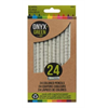 Onyx + Blue Colored Pencils Recycled Newspaper 24 pack