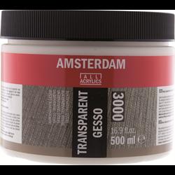Amsterdam Acrylic Ground GESSO TRANSPARENT 500ML