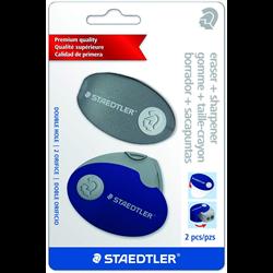 Eraser Staedtler Eraser and Sharpener combo [525-PS2SBK]