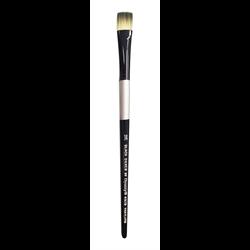 Brush Black Silver LH Bright 12