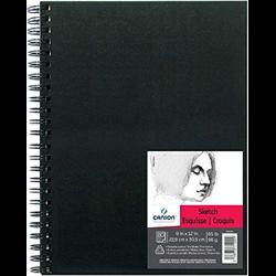 Canson Art Book Sketch coil 9x12 65lb