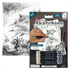 Royal & Langnickel Mini Sketching Made Easy Dolphins