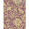 Paper Moonflowers - Gold/Plum **ND**