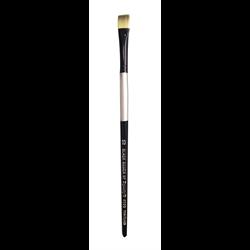 Brush Black Silver LH Bright 10
