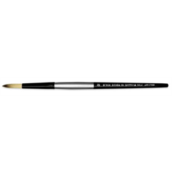 Brush Black Silver SH Round 2