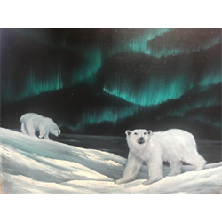 """Polar Bears"" Oil Painting Class with Kathryn Wallack, Feb 10th"