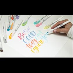 Zebra Mildliner Brush Pens