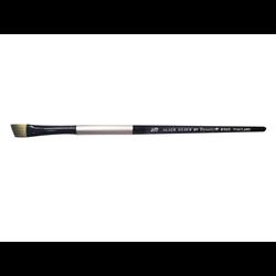 Brush Black Silver SH Angular 3/8