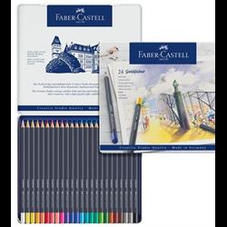 Faber Castell Goldfaber Coloured Pencil Set 24 Colour **ND**