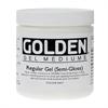 Additional images for Golden Medium Regular Gel Semi Gloss 8oz