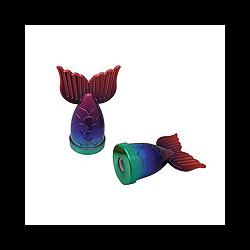 Streamline Rainbow Mermaid Tail Pencil Sharpener **ND**