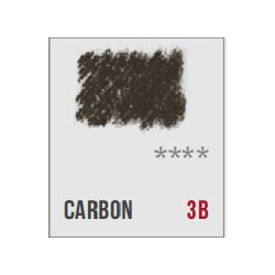 Conte Sketching and Drawing Pencil - Carbon 3B