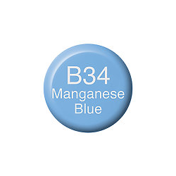 Copic Ink and Refill B34 Manganese Blue *ND*