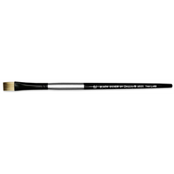 Brush Black Silver LH Bright 0