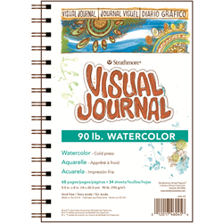 Visual Journal - Watercolor - 90 lb