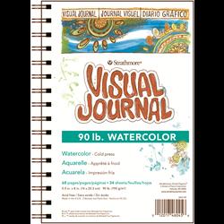 Visual Journal - Watercolor - 90 lb