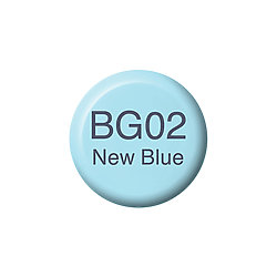 Copic Ink and Refill BG02 New Blue *ND*