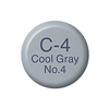 Copic Ink and Refill C4 Cool Grey 4*ND*