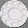 Palette Richeson Plastic Heavy Duty Round 10 Well w/ Lid