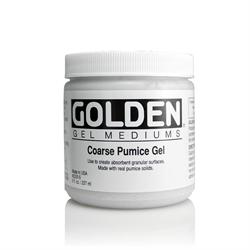 Golden Medium Coarse Pumice Gel 8oz