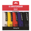 Additional images for Amsterdam Acrylic Standard Set MIXING 5X120ML **ND**