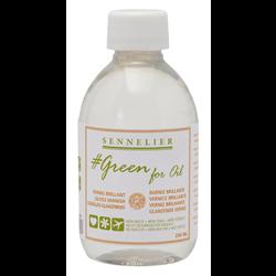 Sennelier Green For Oil - Gloss Varnish 100ml/3.50oz.