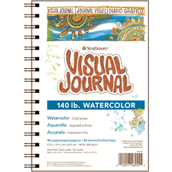 Visual Journal - Watercolor -140 lb