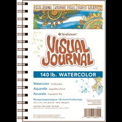 Visual Journal - Watercolor -140 lb
