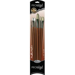 Connoisseur Protege Hog Bristle Brush Sets