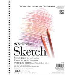 "Strathmore 200 Sketch Cloth Bound 5.5""x8.5"""