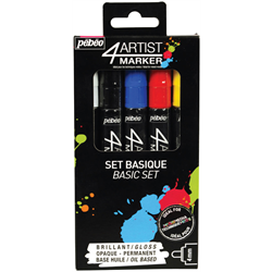 Pebeo - 4Artist Oil Markers Sets