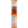 Brush Set 9156 Real Value Series - White Taklon Set of 6 brushes - LH