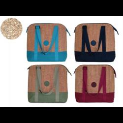 Onyx + Blue Cork Lunch Bag