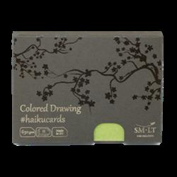 SM.LT Haiku Cards Colored Drawing 630gsm 11shts **ND**