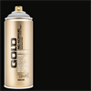 Montana GOLD Spray Shock Black - 400ml **ND**