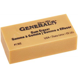 Eraser Art Gum 2x1 General (136E)