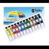 Yarka Watercolour Tubes 12 Colours 7.5ml