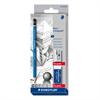 Staedtler Lumograph Pencil Set of 6 + Bonus Sharpener & Eraser