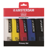 Additional images for Amsterdam Acrylic Standard Set PRIMARY 5X120ML. **ND**