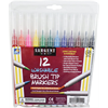 Markers Brush Tip Washable 12 Count Sargent Art (22-1512)